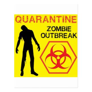 Zombie Design Postcard