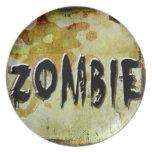 Zombie Dinner Plates
