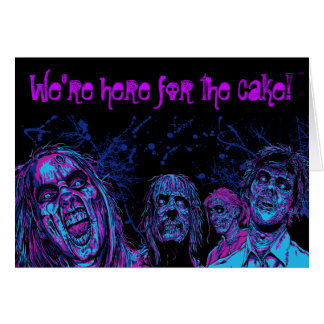 Zombie Disco Card