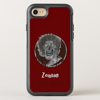 Zombie Distressed Looking Graphic OtterBox Symmetry iPhone 8/7 Case