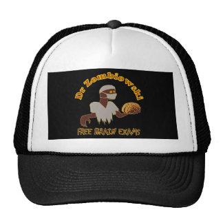 Zombie Doctor Free Brain Exams Design Trucker Hat