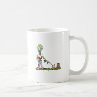 Zombie Dog Walker Coffee Mug