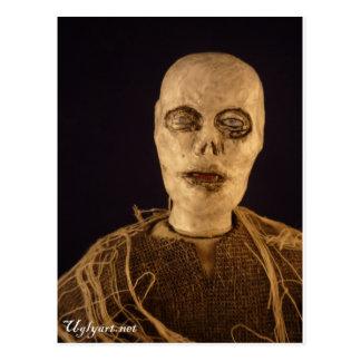 Zombie Doll Postcard