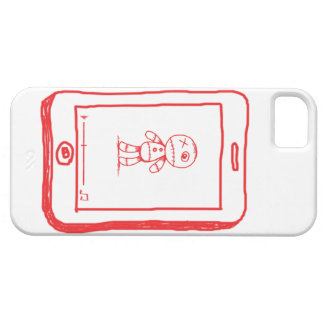 Zombie doll Tablet Iphone 5 Case