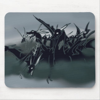 Zombie Dragons Mouse Pad