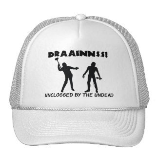 Zombie Drains Trucker Hats