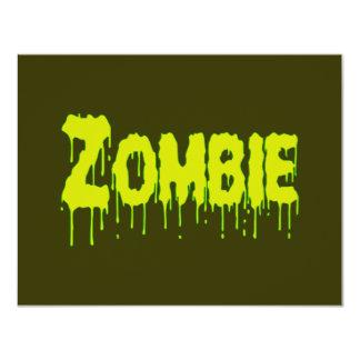 Zombie Drip Card