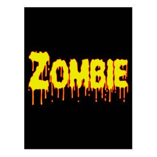 Zombie Drip Postcards