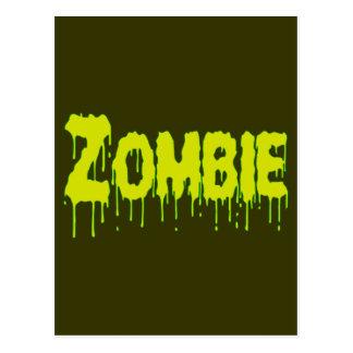 Zombie Drip Post Card