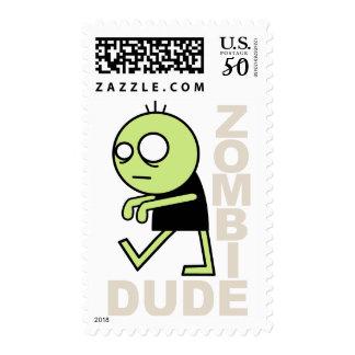 Zombie Dude Postage