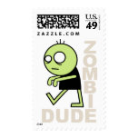 Zombie Dude Stamp