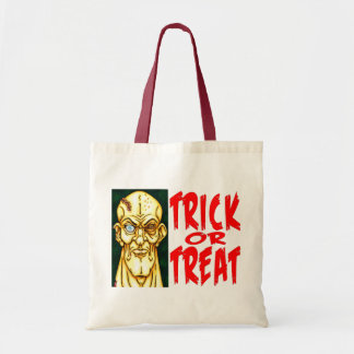 Zombie Dude Trick-or-Treat Tote Bag