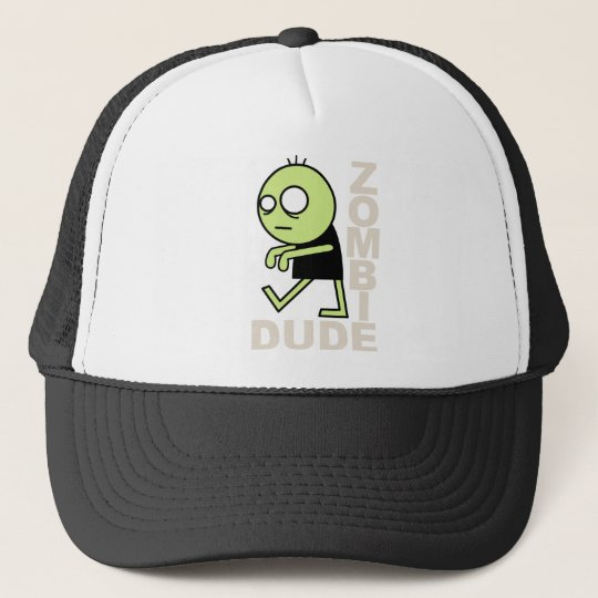 Zombie Dude Trucker Hat