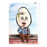Zombie Dumpty Postcard