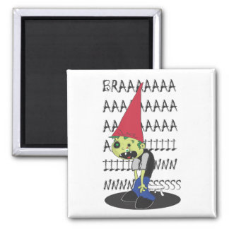 Zombie Dunce Magnets