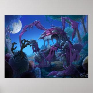 Zombie Easter Bunny vs Monster Eggs Poster