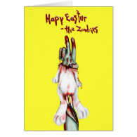 zombie easter cards