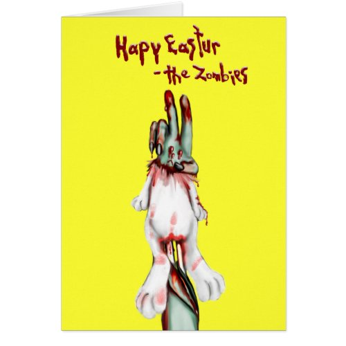 12 creepy easter bunny gift ideas for zombie fans creepy zombie easter bunny gifts negle Choice Image
