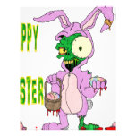 Zombie Easter Personalized Letterhead