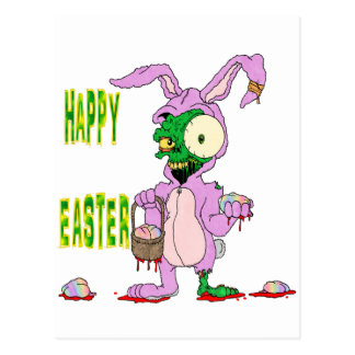 Zombie Easter Postcard