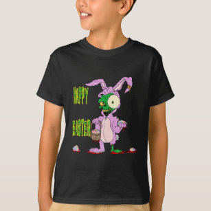 Zombie bunny gifts on zazzle zombie easter t shirt negle Choice Image