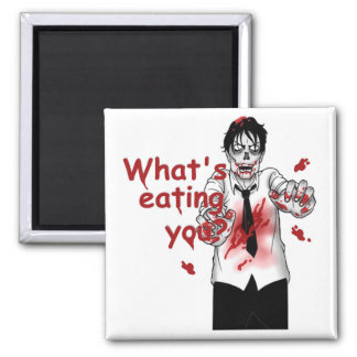 Zombie Eating Magnet