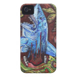 Zombie Eats Shark iPhone 4 Cover
