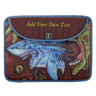 Zombie Eats Shark Sleeve For MacBooks