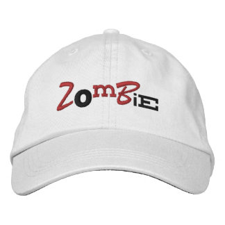 ZOMBIE Eclectic Style Halloween Embroidery Hat