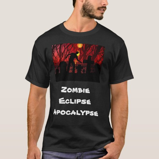 go green or go home zombie eclipse apocalypse t shirt. Black Bedroom Furniture Sets. Home Design Ideas