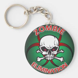 Zombie Elimination Keychain