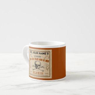 Zombie Elixir Customizable Espresso Mug