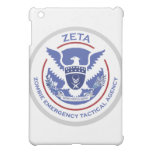 Zombie Emergency Tactical Agency Logo/Seal iPad Mini Covers