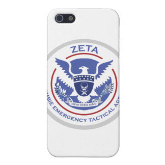 Zombie Emergency Tactical Agency Logo/Seal iPhone 5 Covers