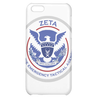 Zombie Emergency Tactical Agency Logo/Seal iPhone 5C Cover