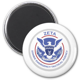 Zombie Emergency Tactical Agency Logo/Seal Magnet