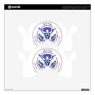 Zombie Emergency Tactical Agency Logo/Seal PS3 Controller Decals