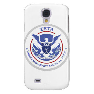 Zombie Emergency Tactical Agency Logo/Seal Samsung Galaxy S4 Case