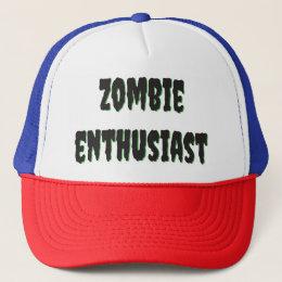 Zombie Enthusiast Trucker Casket Trucker Hat
