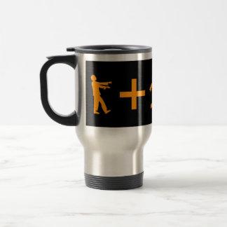 Zombie Equation Travel Mug