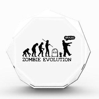 Zombie Evolution Acrylic Award