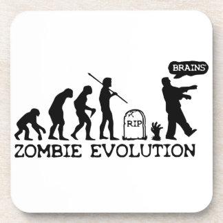 Zombie Evolution Beverage Coaster