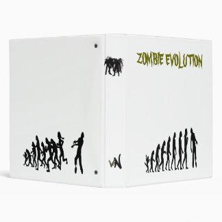 zombie evolution 3 ring binders