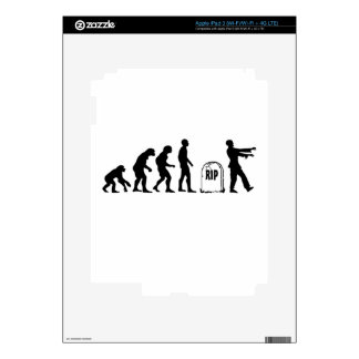 ZOMBIE EVOLUTION DECAL FOR iPad 3