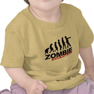 ZOMBIE EVOLUTION DIAGRAM -.png Tshirt