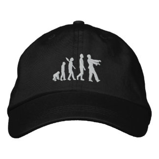 Zombie Evolution Embroidered Baseball Hat