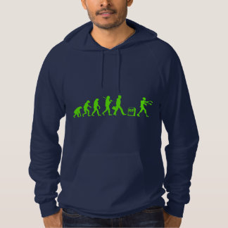 Zombie Evolution Hooded Pullovers
