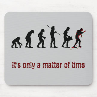 Zombie Evolution Mouse Pad