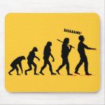 Zombie Evolution Mousepads