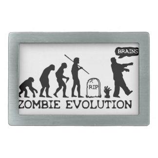 Zombie Evolution Rectangular Belt Buckle